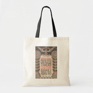 Bilibin's Exhibition Poster bags - choose style