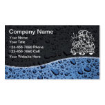 Bilingual Auto Detailing Business Cards