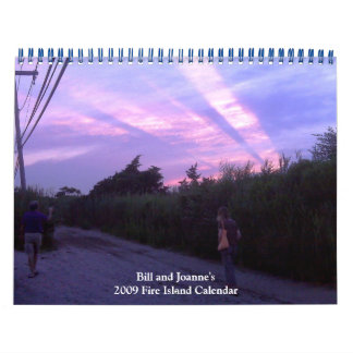 Bill and Joanne's 2009 Fire Island Calendar