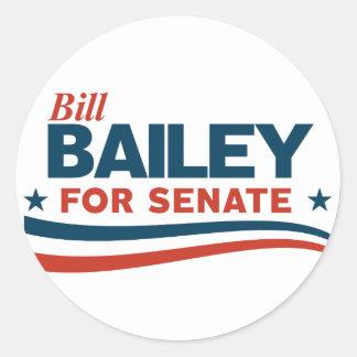 Bill Bailey Classic Round Sticker