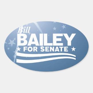 Bill Bailey Oval Sticker