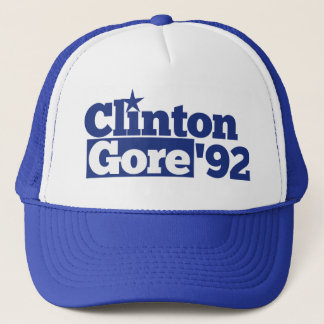 Bill Clinton Al Gore 1992 retro politics Trucker Hat