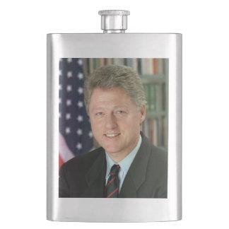 Bill Clinton Hip Flask
