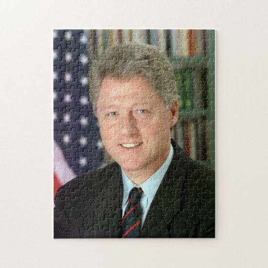 Bill Clinton Jigsaw Puzzle