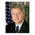Bill Clinton Postcard