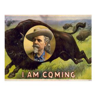 Bill Cody -1899 Postcard