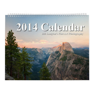 Bill Langton's Fine Art Photography 2014 Calendar