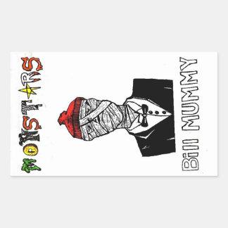 Bill Mummy Sticker
