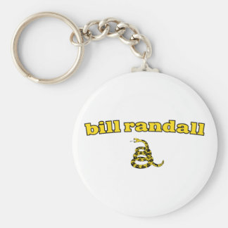 Bill Randall Gadsden Snake Keychains