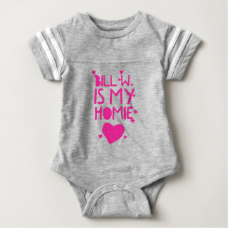 Bill W Homeboy Fellowship AA Meetings Baby Bodysuit