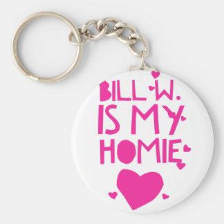 Bill W Homeboy Fellowship AA Meetings Keychain