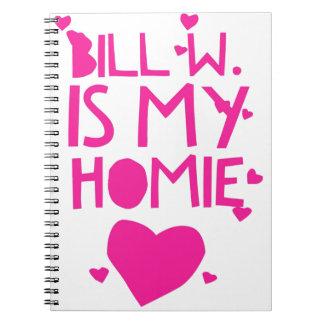 Bill W Homeboy Fellowship AA Meetings Notebook