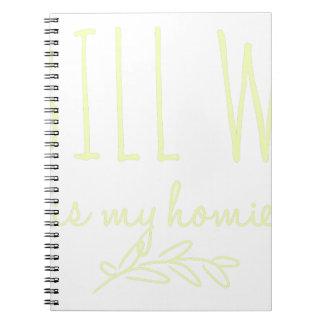 Bill W Homeboy Fellowship AA Meetings Notebooks