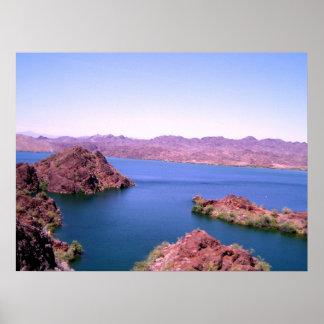 Bill Williams River, Western Arizona Poster