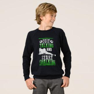 Billard Style Sweatshirt