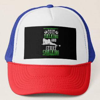 Billard Style Trucker Hat