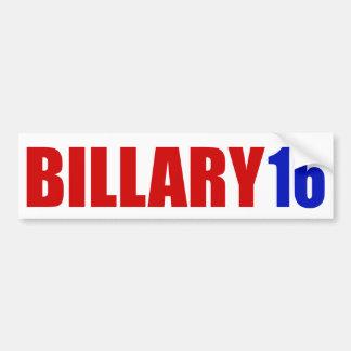 """BILLARY 16"" BUMPER STICKER"