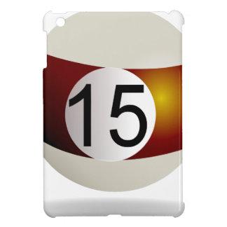 Billiard ball 15 iPad mini covers