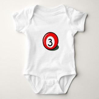 Billiard ball baby bodysuit