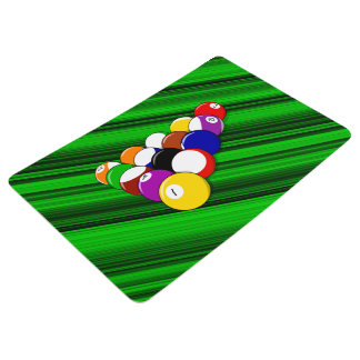 Billiard hall floor mat
