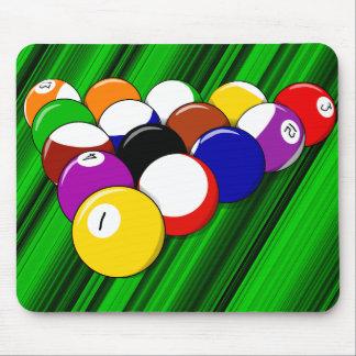 Billiard hall mouse pad