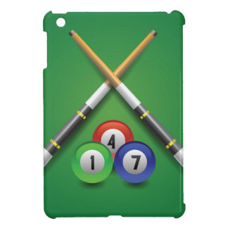 billiard label cover for the iPad mini