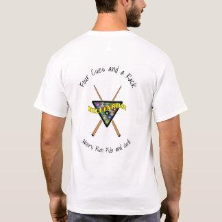Billiard Rack and Sticks Team Shirt