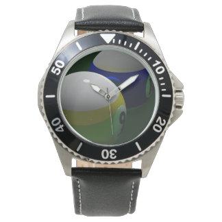 Billiard sphere watch