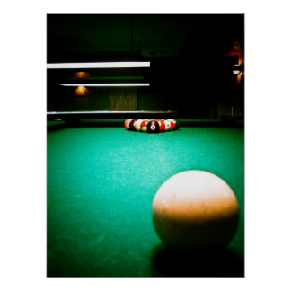 Billiards 01 Poster