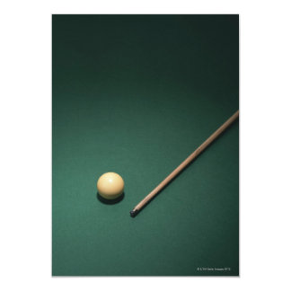 "Billiards 2 5"" x 7"" invitation card"