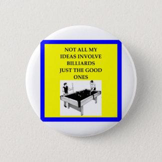 billiards 2 inch round button