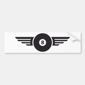 Billiards 8 bumper sticker