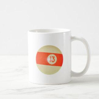 Billiards Ball #13 Coffee Mug
