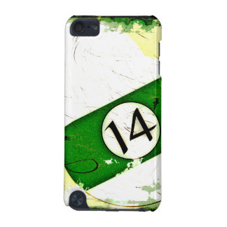 BILLIARDS BALL NUMBER 14 iPod TOUCH (5TH GENERATION) CASE