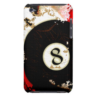 BILLIARDS BALL NUMBER 8 BARELY THERE iPod COVERS