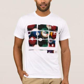 Billiards Close_Ups Grid - T-Shirt