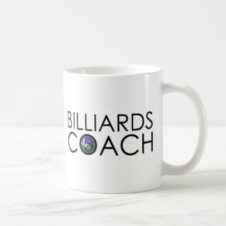 Billiards Coach Coffee Mug