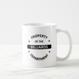 Billiards Department Coffee Mug