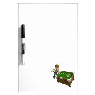 Billiards Dry Erase Boards