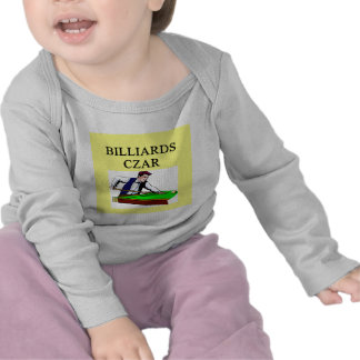 BILLIARDS joke Tee Shirts