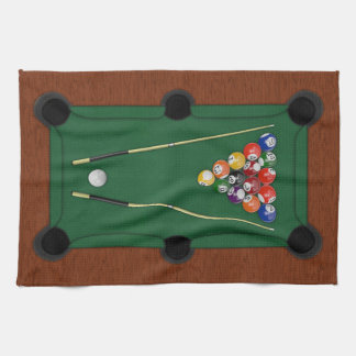 Billiards Kitchen Towel