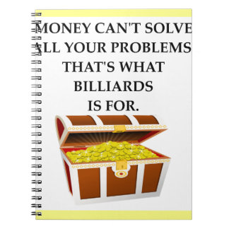 BILLIARDS NOTEBOOKS