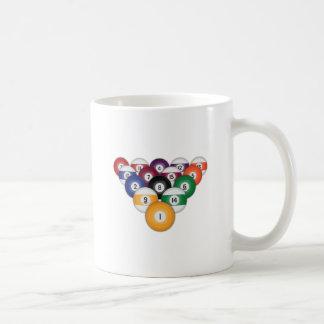 Billiards / Pool Balls: Coffee Mug