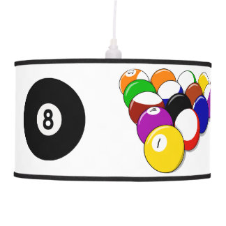 Billiards Pool Design Lamp Shade
