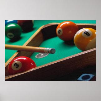 billiards poster