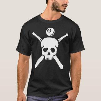 Billiards skull T-Shirt