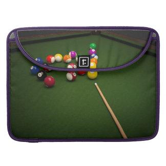 Billiards Sleeve For MacBooks