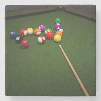 Billiards Stone Coaster