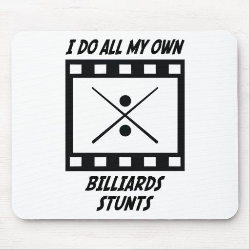 Billiards Stunts Mouse Pad
