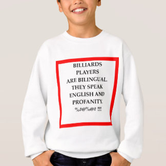 BILLIARDS SWEATSHIRT